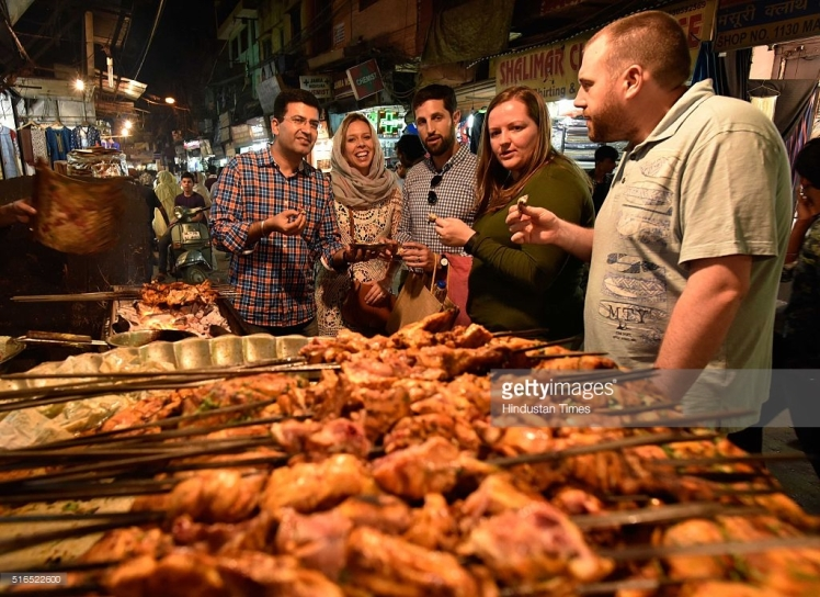 Delhi Food walk